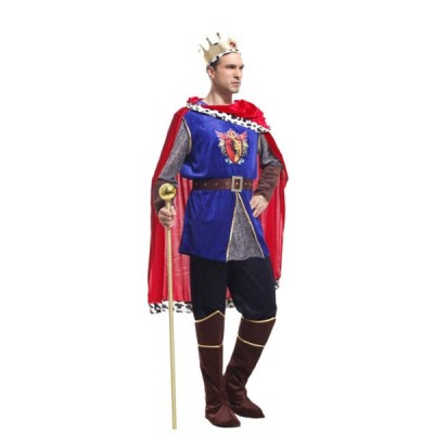 ZOCOLA(ゾコラ) ハロウィン コスプレ メンズ 騎士 ナイト 王様 国王 戦士 仮装 学園祭 文化祭 男性用 コスチューム イベント
