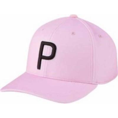 プーマ メンズ 帽子 アクセサリー PUMA Men's P 110 2020 Golf Hat Pink Lady