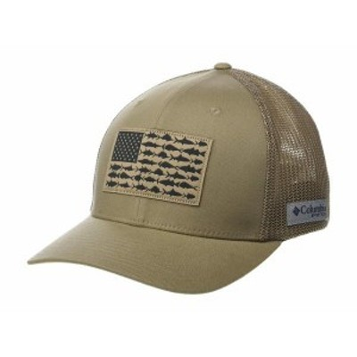 コロンビア メンズ 帽子 アクセサリー PFG Mesh¢ Fish Flag Ball Cap Tusk