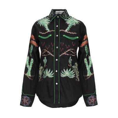 JESSIE WESTERN シャツ ブラック XS コットン 100% シャツ