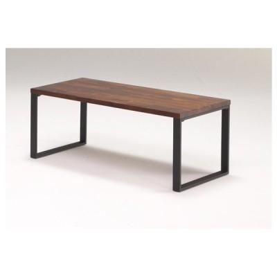 ヴィンテージ調リビングテーブル インテリアテーブル フロアーテーブル レトロ おしゃれ 天然木 木製テーブル 90cm幅 リビング テーブル 送料無料