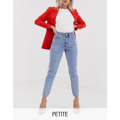 ヴェロモーダ Vero Moda Petite レディース ジーンズ・デニム ボトムス・パンツ mom jeans ライトブルーデニム