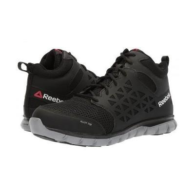 Reebok Work リーボック メンズ 男性用 シューズ 靴 スニーカー 運動靴 Sublite Cushion Work Mid SD - Black