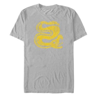 フィフスサン メンズ Tシャツ トップス Nickelodeon Men's Legends of the Hidden Temple Snakes Logo Short Sleeve T-Shirt