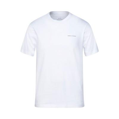 ARMANI EXCHANGE T シャツ ホワイト M コットン 100% T シャツ