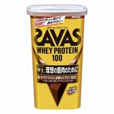 明治 ザバス ホエイプロテイン100 リッチショコラ味 14食分 プロテイン タンパク質 筋肉 筋トレ 成長 スポーツ 運動