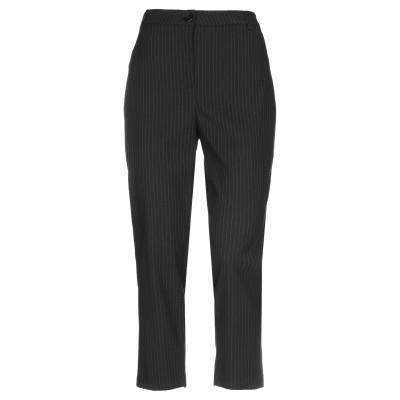 SOALLURE パンツ ブラック 44 ポリエステル 64% / レーヨン 32% / ポリウレタン 4% パンツ