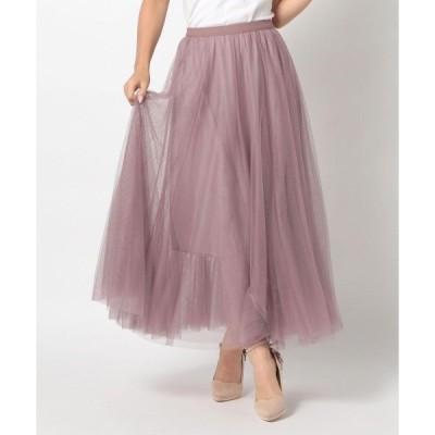 スカート 《田中みな実さん着用》ウォータムチュールスカート