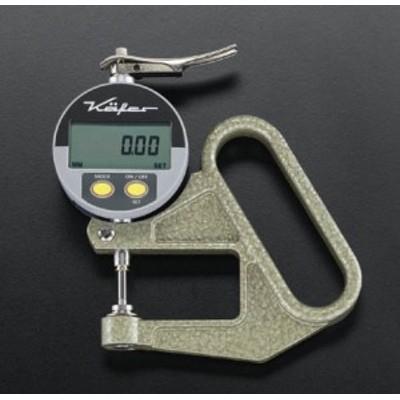 エスコ ESCO 0-10mm / 0.01 デジタルシクネスゲージ EA725A-51 WO店