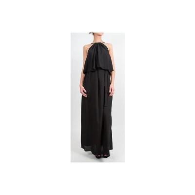 ドレス 海外セレクション T-Bags Los Angeles Black Maxi Dress