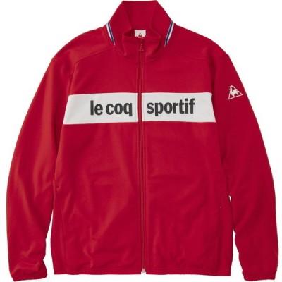 ルコック(le coq sportif) ウォームアップジャケット QMMRJF01-RED メンズ