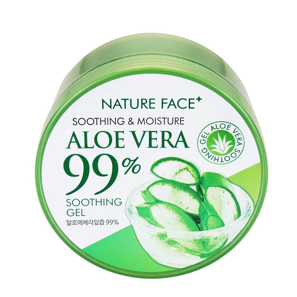 Nature Face 99% 蘆薈保濕舒緩凝膠 (300ml)