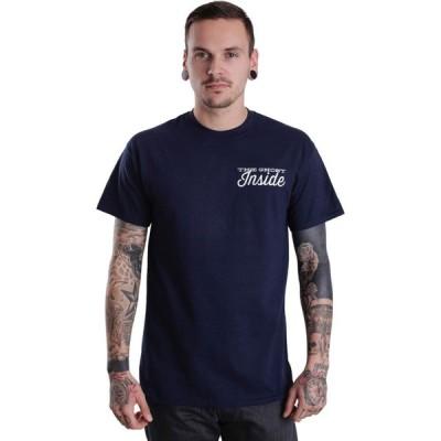 ザ ゴースト インサイド The Ghost Inside メンズ Tシャツ トップス - Dear Youth Navy - T-Shirt blue