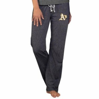 Concepts Sport コンセプト スポーツ スポーツ用品  Oakland Athletics Concepts Sport Womens Quest Knit Pants - Charcoal