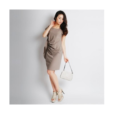 MARTHA(マーサ) アムンゼンドレープワンピース (ワンピース)Dress