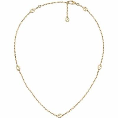 グッチ GUCCI レディース ネックレス ジュエリー・アクセサリー Running G 18K Gold Necklace Yellow Gold