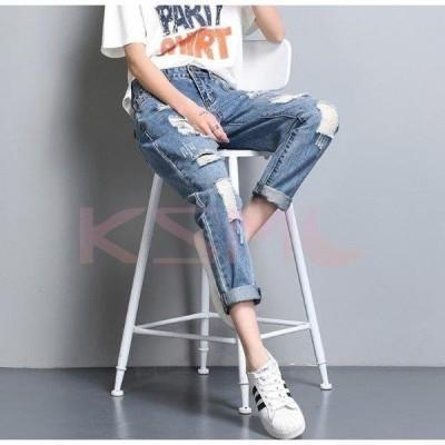 デニム レディース ボトムス ジーパン ファッション 女性 新作 ウーマン パンツ ジーンズ 006