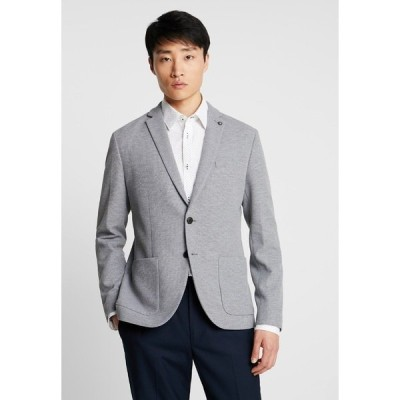 セレクテッドオム ジャケット&ブルゾン メンズ アウター SLHSLIM IKEN BLAZER - Blazer jacket - light grey melange