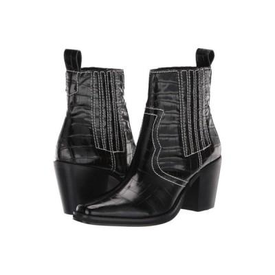 スティーブ マデン Steve Madden レディース ブーツ シューズ・靴 Geniva Western Bootie Black Croco
