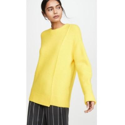 アクネ ストゥディオズ Acne Studios レディース ニット・セーター トップス kerna fluffy alpaca pullover Canary Yellow