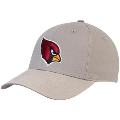 メンズ スポーツリーグ フットボール Men's Gray Arizona Cardinals Basic Adjustable Hat - OSFA 帽子
