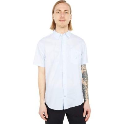 ノーティカ Nautica メンズ シャツ スリム トップス Navtech Slim Fit Shirt Crystal Bay Blue