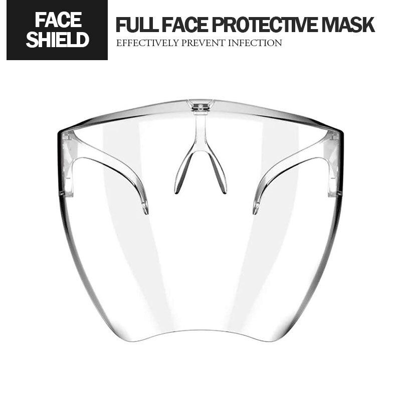 太空全臉防護面罩 180度防護 舒適透氣 護目鏡 防霧氣/防飛沫/防沙塵/防油煙面罩 防疫用品 人人必備面罩