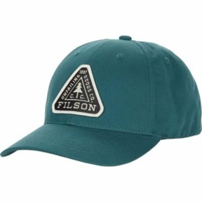フィルソン Filson メンズ キャップ 帽子 Logger Cap Mallard Teal
