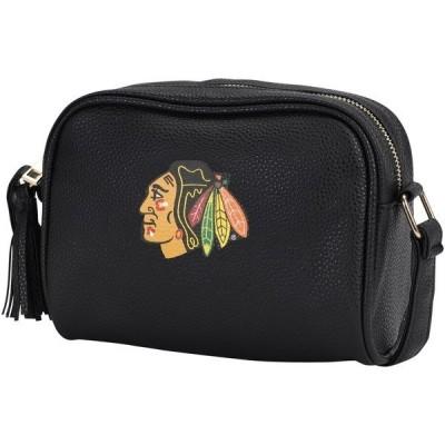 フォーエバーコレクティブルズ レディース ハンドバッグ バッグ Chicago Blackhawks Team Color Continental Crossbody Handbag