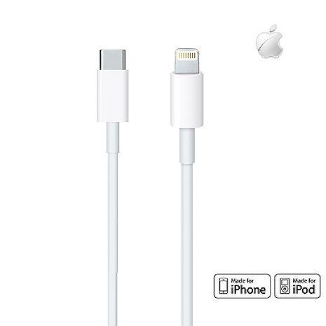 【快速出貨】【原廠公司貨】Apple USB Type-C to Lightning傳輸充電線 1M (美商蘋果