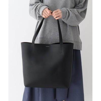 BASESTATION / 【WEARISTAコラボ】レザータッチ 一枚仕立て 軽量 トートバッグ WOMEN バッグ > ショルダーバッグ