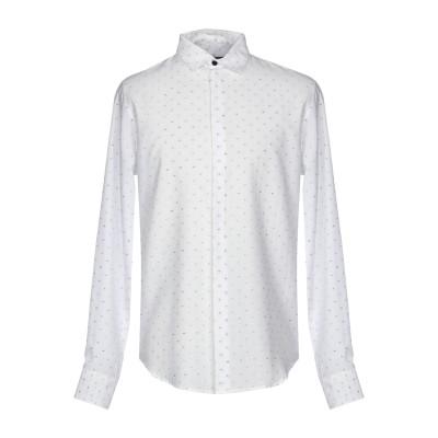 ビブロス BYBLOS シャツ ホワイト 44 100% コットン シャツ