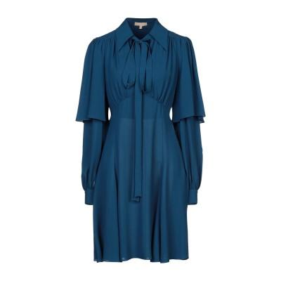 マイケル・コースコレクション MICHAEL KORS COLLECTION ミニワンピース&ドレス パステルブルー 2 シルク 100% ミニワン