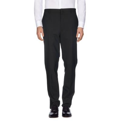 ランバン LANVIN パンツ ブラック 52 ウール 98% / ポリウレタン® 2% パンツ