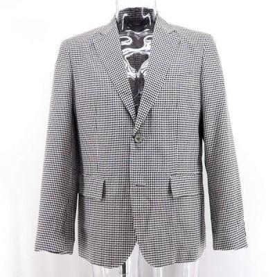 G&G GEEGELLAN ジーゲラン テーラードジャケット シルク シングル 絹(シルク) M/L/LL メンズ ファッション 服 カジュアル 日