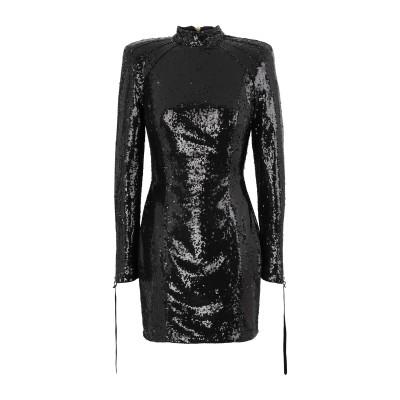 NINEMINUTES ミニワンピース&ドレス ブラック 40 ポリエステル 100% ミニワンピース&ドレス