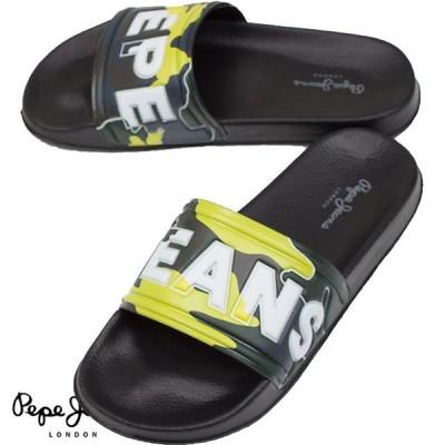 Pepe Jeans ぺぺジーンズ メンズ サンダル SLIDER CAMO PMS70071 765 KHAKI GREEN