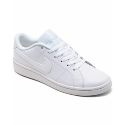 ナイキ レディース スニーカー シューズ Women's Court Royale 2 Casual Sneakers from Finish Line White