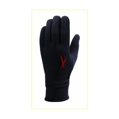 【並行輸入品】Seirus Men's Xtreme All Weather Glove, X-Large, Black/Red