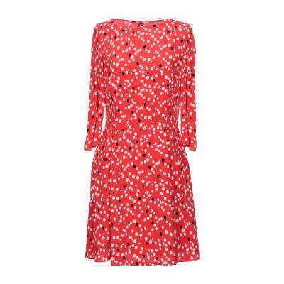 パトリツィア ペペ PATRIZIA PEPE ミニワンピース&ドレス レッド 42 レーヨン 100% ミニワンピース&ドレス