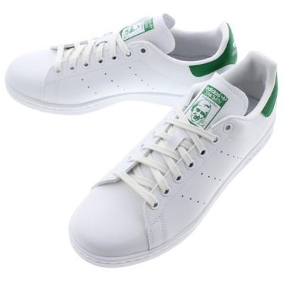 アディダス adidas スニーカー スタンスミス ビーガン STAN SMITH VEGAN フットウェアホワイト/グリーン/フットウェアホワイト FU9612