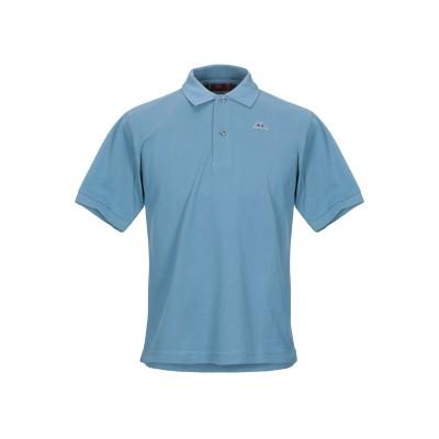 ROBE DI KAPPA ポロシャツ スカイブルー XS コットン 100% ポロシャツ