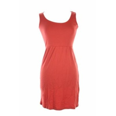 Red  ファッション ドレス Charter Club Petite Red Sleeveless Button-Back A-Line Dress Postage and Shipping