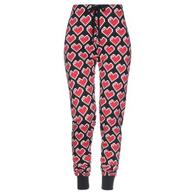 ラブ モスキーノ LOVE MOSCHINO パンツ ブラック 40 コットン 94% / ポリウレタン 6% パンツ