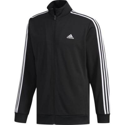 アディダス adidas M MUSTHAVES 3ストライプスウォームアップジャケット NEW トレーニングジャケット FTL67-DV1099 (ブラック)