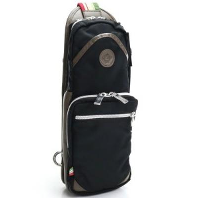 【新品】オロビアンコ OROBIANCO  ボディバッグ GIACOMIO DA-N 99/08 NERO/BRONZO ブラック ブラウン系 bag-01