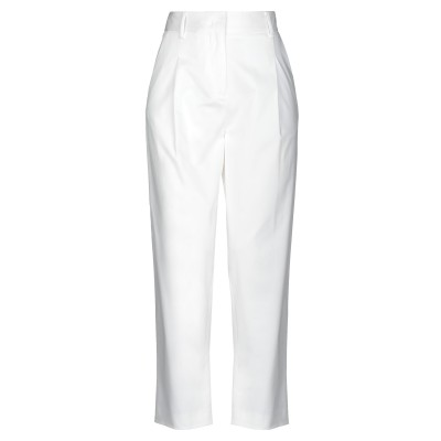 イレブンティ ELEVENTY パンツ ホワイト 38 コットン 96% / ポリウレタン 4% パンツ