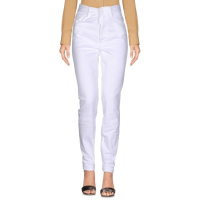 ディースクエアード DSQUARED2 パンツ ホワイト 38 コットン 98% / ポリウレタン 2% パンツ