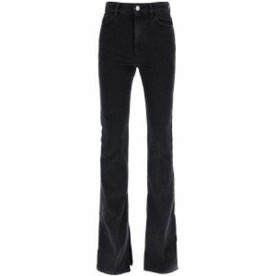 ATTICO/アティコ Black The attico flared jeans レディース 秋冬2020 202WCP10D006 ik