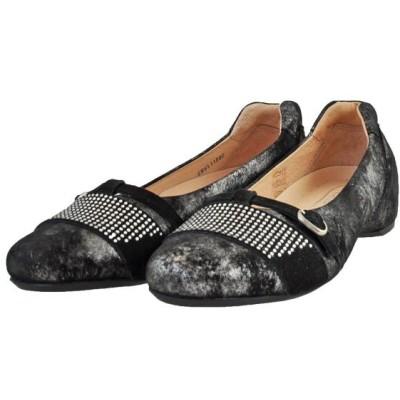 レディース 靴 パンプス マドラス ソフトウェーブス ラインストーン インヒールパンプス 送料無料 ブラック SW65110DPBLA